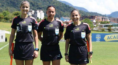 Trio de arbitragem brasileiro é confirmado na Copa do Mundo Feminina