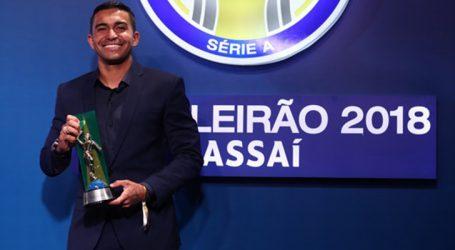 Prêmio Brasileirão 2018: Dudu do Palmeiras é eleito melhor atacante e craque da competição
