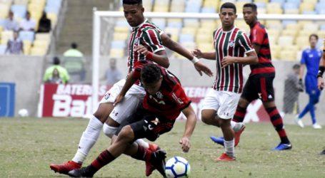 Fla-Flu fica empatado no primeiro jogo da Final da Copa do Brasil Sub-17