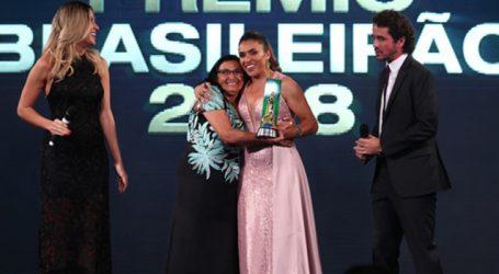 Rainha Marta é a homenageada do Prêmio Brasileirão 2018