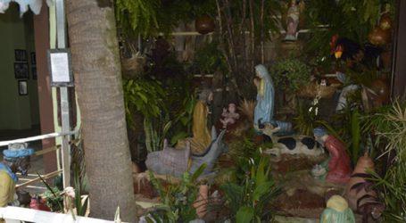 Presépio com artes sacras produzidas por SICA pode ser visitado no Museu Histórico de Pará de Minas