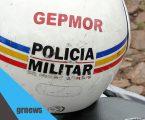 GEPMOR recupera moto roubada no bairro Santos Dumont