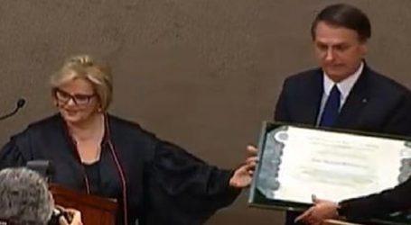 Jair Bolsonaro e Hamilton Mourão são diplomados pelo TSE