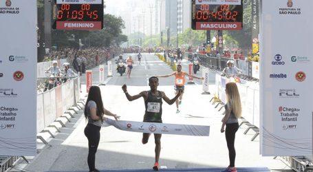 Queniana e etíope vencem corrida de São Silvestre em SP