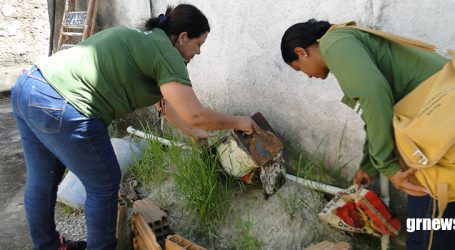 Agentes realizam levantamento do índice de infestação do Aedes aegypti e podem visitar até duas mil casas em Pará de Minas