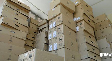 Prefeitura investe R$ 1,2 milhão na compra de novos computadores para substituir os antigos que eram alugados