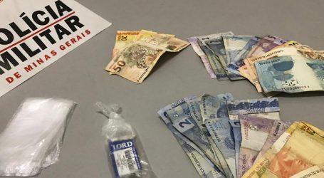 Trio suspeito de tráfico é flagrado com maconha e dinheiro no Residencial Cecília Meireles