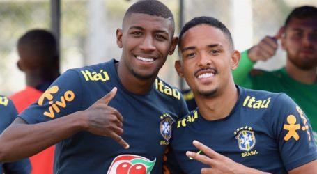 Emerson e Vitinho disputam vaga na direita da seleção com parceria e lealdade